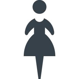 女性のマークのアイコン素材 4 商用可の無料 フリー のアイコン素材をダウンロードできるサイト Icon Rainbow