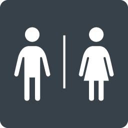 トイレなどで使える男女のシルエットアイコン素材 9 商用可の無料 フリー のアイコン素材をダウンロードできるサイト Icon Rainbow