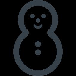 雪だるまのアイコン素材 1 商用可の無料 フリー のアイコン素材をダウンロードできるサイト Icon Rainbow