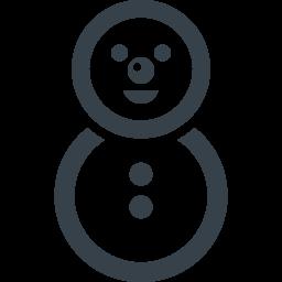 雪だるまのアイコン素材 4 商用可の無料 フリー のアイコン素材をダウンロードできるサイト Icon Rainbow