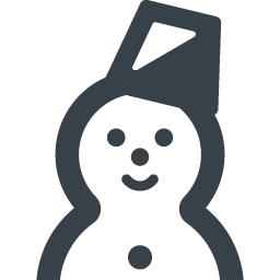 バケツをかぶってる雪だるまのアイコン素材 商用可の無料 フリー のアイコン素材をダウンロードできるサイト Icon Rainbow