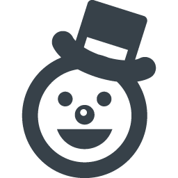 雪だるまの顔のアイコン素材 2 商用可の無料 フリー のアイコン素材をダウンロードできるサイト Icon Rainbow
