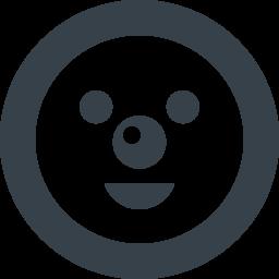 雪だるまの顔のアイコン素材 1 商用可の無料 フリー のアイコン素材をダウンロードできるサイト Icon Rainbow