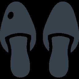 スリッパのアイコン素材 1 商用可の無料 フリー のアイコン素材をダウンロードできるサイト Icon Rainbow