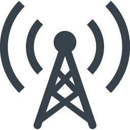 電波 アンテナのアイコン素材 2 商用可の無料 フリー のアイコン素材をダウンロードできるサイト Icon Rainbow