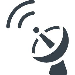 パラボラアンテナのアイコン素材 6 商用可の無料 フリー のアイコン素材をダウンロードできるサイト Icon Rainbow