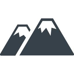 山のアイコン素材 4 商用可の無料 フリー のアイコン素材をダウンロードできるサイト Icon Rainbow