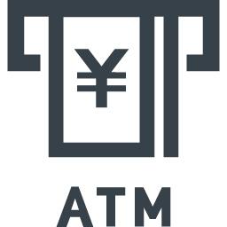 Atmの現金引き落としの無料アイコン素材 2 商用可の無料 フリー のアイコン素材をダウンロードできるサイト Icon Rainbow