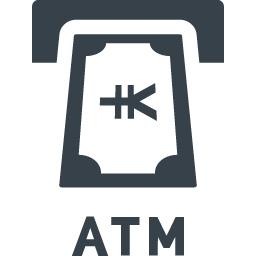 Atmの現金引き落としの無料アイコン素材 3 商用可の無料 フリー のアイコン素材をダウンロードできるサイト Icon Rainbow