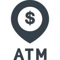 ドルマークのatmのアイコン素材 3 商用可の無料 フリー のアイコン素材をダウンロードできるサイト Icon Rainbow