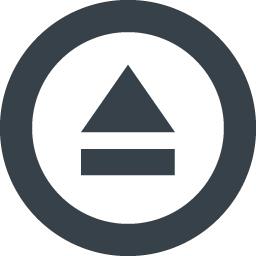 取り出し イジェクトのマーク素材 2 商用可の無料 フリー のアイコン素材をダウンロードできるサイト Icon Rainbow