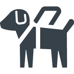 盲導犬のフリーアイコン素材 1 商用可の無料 フリー のアイコン素材をダウンロードできるサイト Icon Rainbow