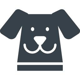 かわいい犬の顔のイラストアイコン素材 1 商用可の無料 フリー のアイコン素材をダウンロードできるサイト Icon Rainbow