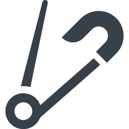 安全ピンのアイコン素材 1 商用可の無料 フリー のアイコン素材をダウンロードできるサイト Icon Rainbow