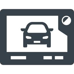 車のカーナビの無料アイコン素材 3 商用可の無料 フリー のアイコン素材をダウンロードできるサイト Icon Rainbow