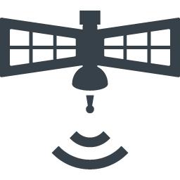 通信系の素材として使えそうな人工衛星のアイコン 2 商用可の無料 フリー のアイコン素材をダウンロードできるサイト Icon Rainbow