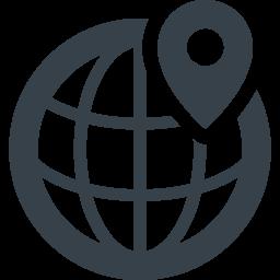 地球 ネットワークの無料アイコン素材 3 商用可の無料 フリー のアイコン素材をダウンロードできるサイト Icon Rainbow