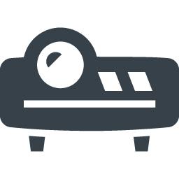 プロジェクターのアイコン素材 3 商用可の無料 フリー のアイコン素材をダウンロードできるサイト Icon Rainbow