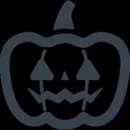 ハロウィンのカボチャのアイコン素材 2 商用可の無料 フリー のアイコン素材をダウンロードできるサイト Icon Rainbow