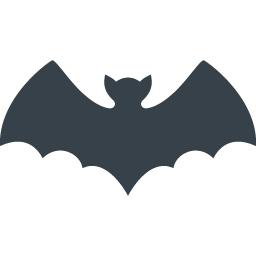 コウモリの無料アイコン素材 2 商用可の無料 フリー のアイコン素材をダウンロードできるサイト Icon Rainbow