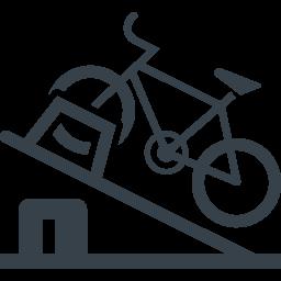 自転車の駐輪場のアイコン素材 商用可の無料 フリー のアイコン素材をダウンロードできるサイト Icon Rainbow