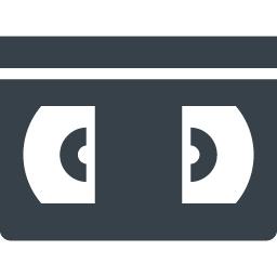 Vhsビデオテープの無料アイコン素材 1 商用可の無料 フリー のアイコン素材をダウンロードできるサイト Icon Rainbow