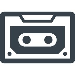 カセットテープの無料アイコン素材 5 商用可の無料 フリー のアイコン素材をダウンロードできるサイト Icon Rainbow