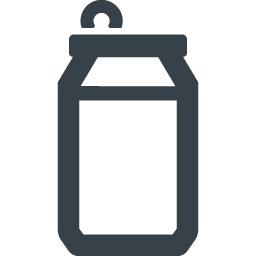 最新 缶 イラスト 無料 アイコンの家