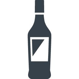 お酒のボトルのアイコン素材 2 商用可の無料 フリー のアイコン素材をダウンロードできるサイト Icon Rainbow