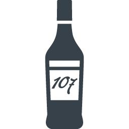 お酒のボトルのアイコン素材 3 商用可の無料 フリー のアイコン素材をダウンロードできるサイト Icon Rainbow