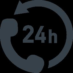 コールセンター 24時間対応のアイコン素材 2 商用可の無料 フリー のアイコン素材をダウンロードできるサイト Icon Rainbow