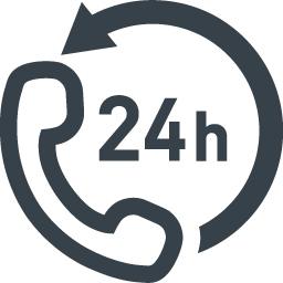 コールセンター 24時間対応のアイコン素材 3 商用可の無料 フリー のアイコン素材をダウンロードできるサイト Icon Rainbow