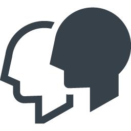 コミュニケーション ユーザーのアイコン素材 2 商用可の無料 フリー のアイコン素材をダウンロードできるサイト Icon Rainbow