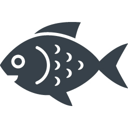 汎用的に使えそうなお魚さんのアイコン素材 1 商用可の無料 フリー のアイコン素材をダウンロードできるサイト Icon Rainbow
