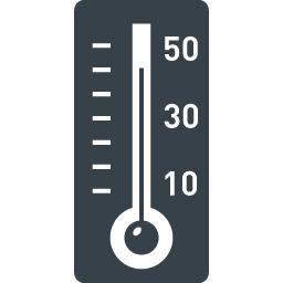 温度計のアイコン素材 2 商用可の無料 フリー のアイコン素材をダウンロードできるサイト Icon Rainbow
