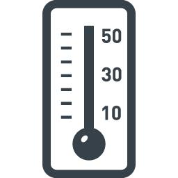 温度計のアイコン素材 3 商用可の無料 フリー のアイコン素材をダウンロードできるサイト Icon Rainbow