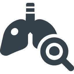 肺の検査のアイコン素材 商用可の無料 フリー のアイコン素材をダウンロードできるサイト Icon Rainbow