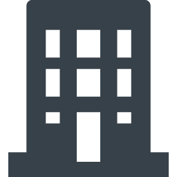 会社 ビルのアイコン素材 1 商用可の無料 フリー のアイコン素材をダウンロードできるサイト Icon Rainbow