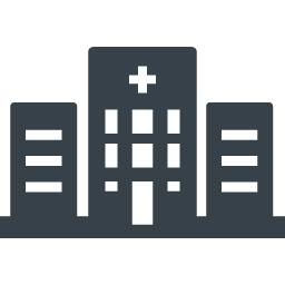 病院のアイコン素材 商用可の無料 フリー のアイコン素材をダウンロードできるサイト Icon Rainbow