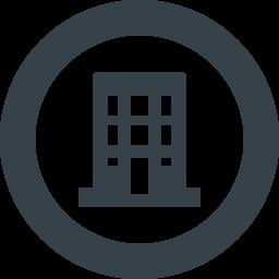 会社 ビルのアイコン素材 2 商用可の無料 フリー のアイコン素材をダウンロードできるサイト Icon Rainbow