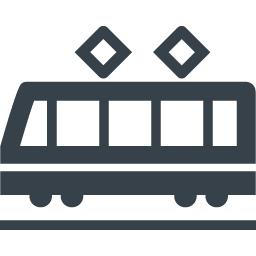 電車の無料アイコン素材 8 商用可の無料 フリー のアイコン素材をダウンロードできるサイト Icon Rainbow