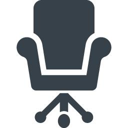 デスクチェアのアイコン素材 1 商用可の無料 フリー のアイコン素材をダウンロードできるサイト Icon Rainbow