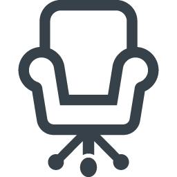 デスクチェアのアイコン素材 2 商用可の無料 フリー のアイコン素材をダウンロードできるサイト Icon Rainbow
