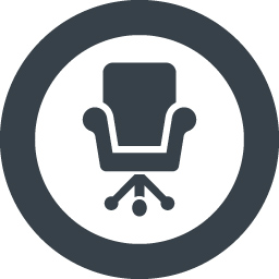 デスクチェアのアイコン素材 3 商用可の無料 フリー のアイコン素材をダウンロードできるサイト Icon Rainbow