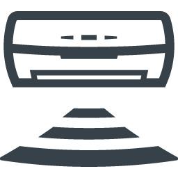 ルームエアコンの無料アイコン素材 3 商用可の無料 フリー のアイコン素材をダウンロードできるサイト Icon Rainbow