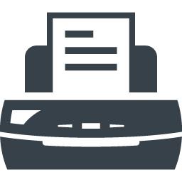 プリンター Faxのアイコン素材 2 商用可の無料 フリー のアイコン素材をダウンロードできるサイト Icon Rainbow