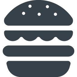 ハンバーガーのアイコン素材 5 商用可の無料 フリー のアイコン素材をダウンロードできるサイト Icon Rainbow