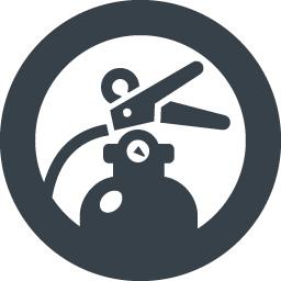 防災 消火器のイラストアイコン素材 6 商用可の無料 フリー のアイコン素材をダウンロードできるサイト Icon Rainbow