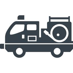 消防車の無料イラストアイコン素材 1 商用可の無料 フリー のアイコン素材をダウンロードできるサイト Icon Rainbow