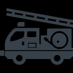 消防車の無料イラストアイコン素材 2 商用可の無料 フリー のアイコン素材をダウンロードできるサイト Icon Rainbow